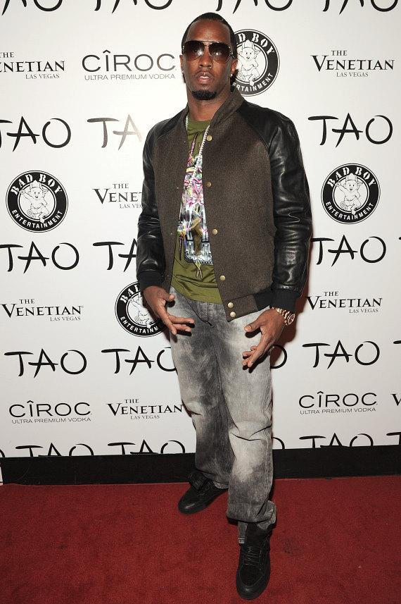 Diddy on TAO red carpet
