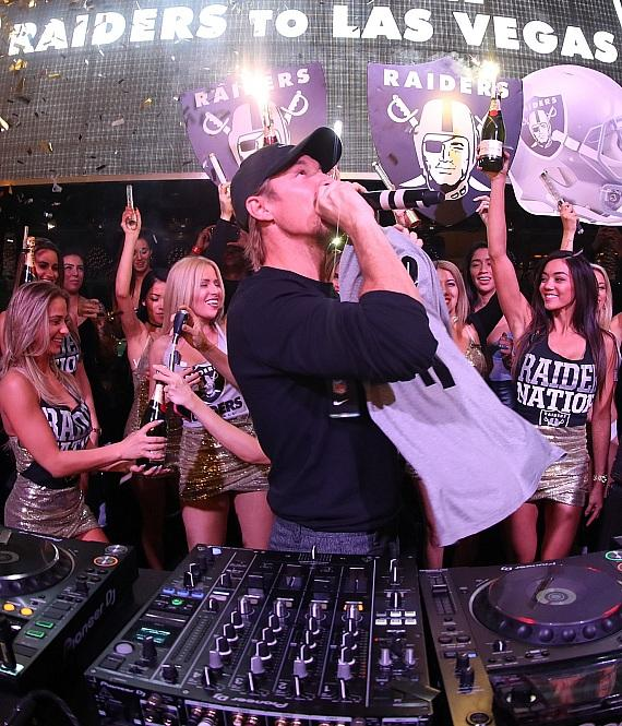 DJ/producer Diplo at XS Nightclub