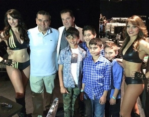 "Buddy ""The Cake Boss"" Valastro and Family at Dirk Arthur's Wild Illusions"