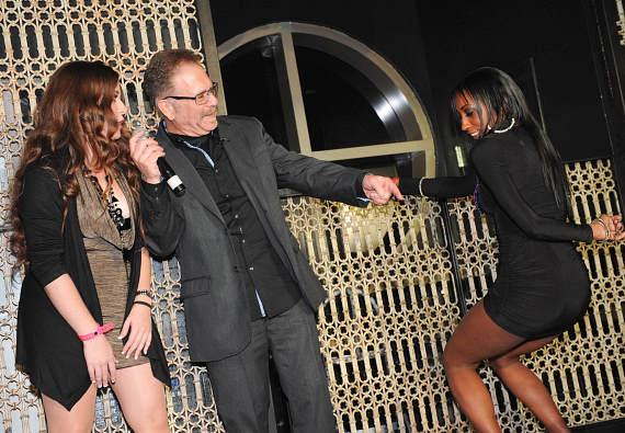 Dirty Marie, Ronnie Mund and Hot Chick of the Week contestant