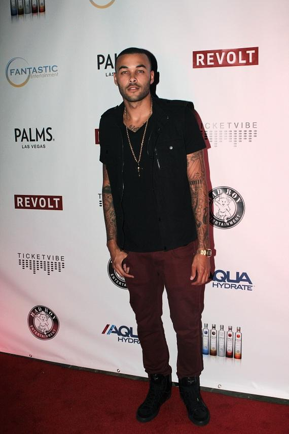 Don Benjamin on red carpet at The Palms