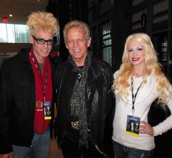 Murray SawChuck, former Eagles guitarist Don Felder and Chloe Crawford