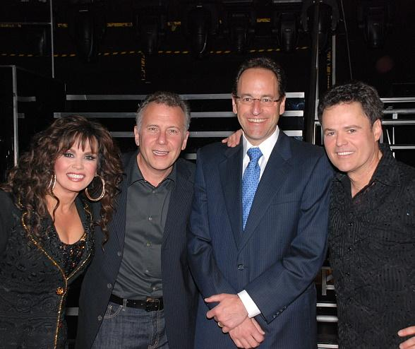 Paul Reiser Attends Donny &amp; Marie Show in Las Vegas