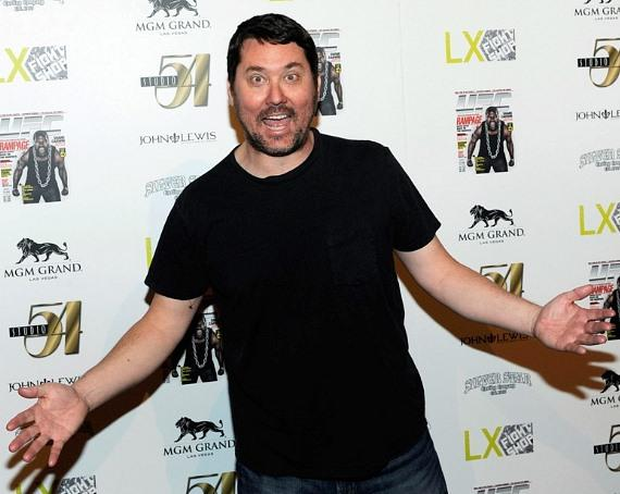 Doug Benson on Red Carpet at Silver Star Pre-Fight Party at Studio 54