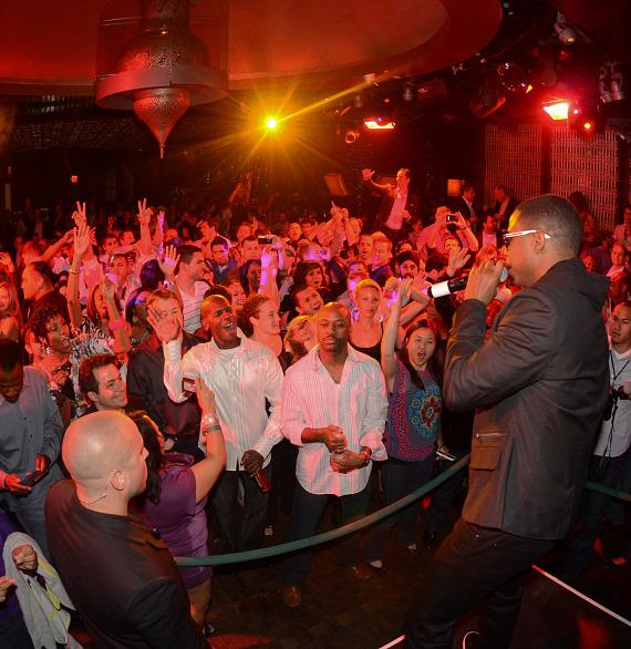 Doug E. Fresh performs at LAVO