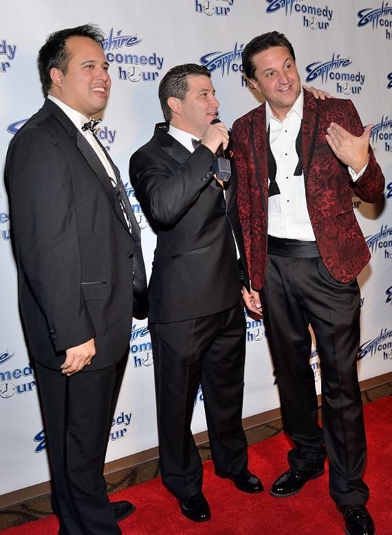 "Co-producers Philip Peredo, Brett Feinstein and  Doug ""Lefty"" Leferovich"