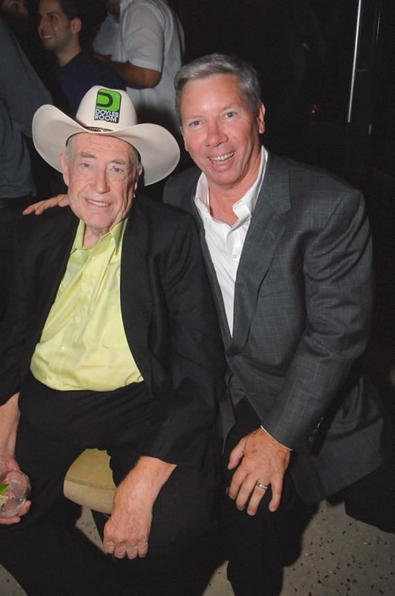 Doyle Brunson and Mike Sexton