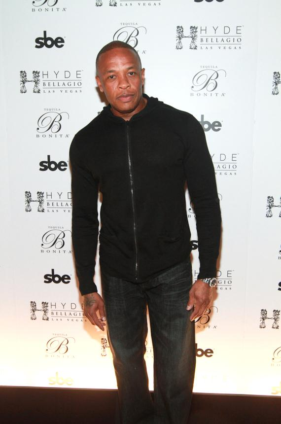 Dr. Dre on Red Carpet at Hyde Bellagio, Las Vegas