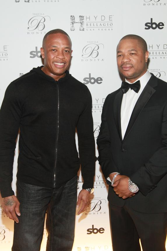 Dr. Dre and Xzibit at Hyde Bellagio