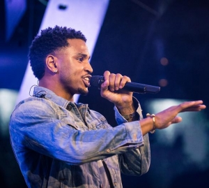 Trey Songz performs at Drai's Nightclub