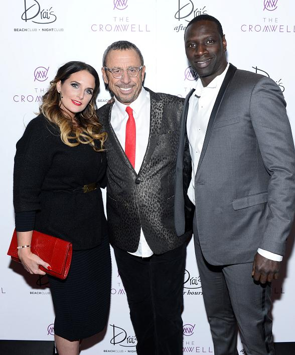 Actor Omar Sy attends NYE Performance by Nicki Minaj at Drai's Nightclub