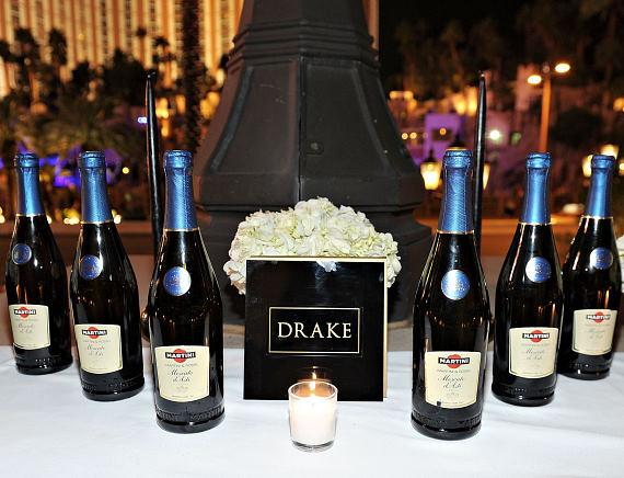 Drake birthday celebration at LAVO