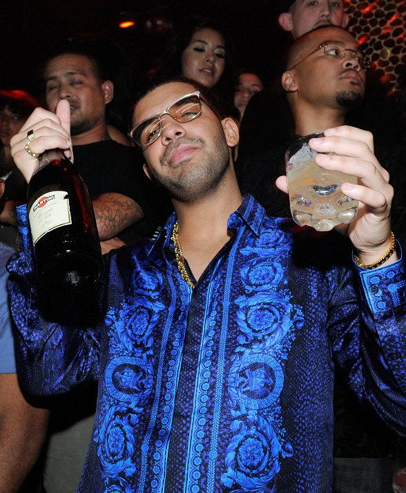 Drake celebrates his birthday at TAO in Las Vegas