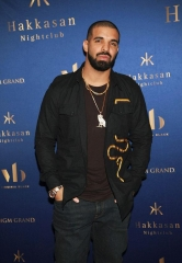 Drake Hosts Official Concert After-Party at Hakkasan Las Vegas Nightclub