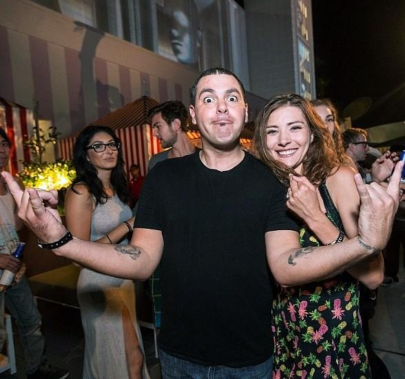 Dryden Mitchell of Alien Ant Farm Excites Partygoers with Surprise Proposal at Foxtail Pool