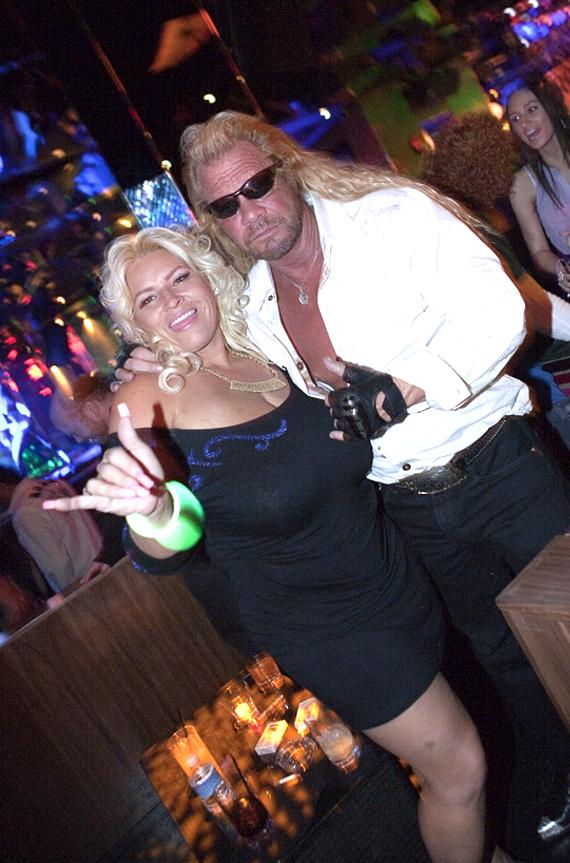 Duane Chapman and wife Beth at Vanity