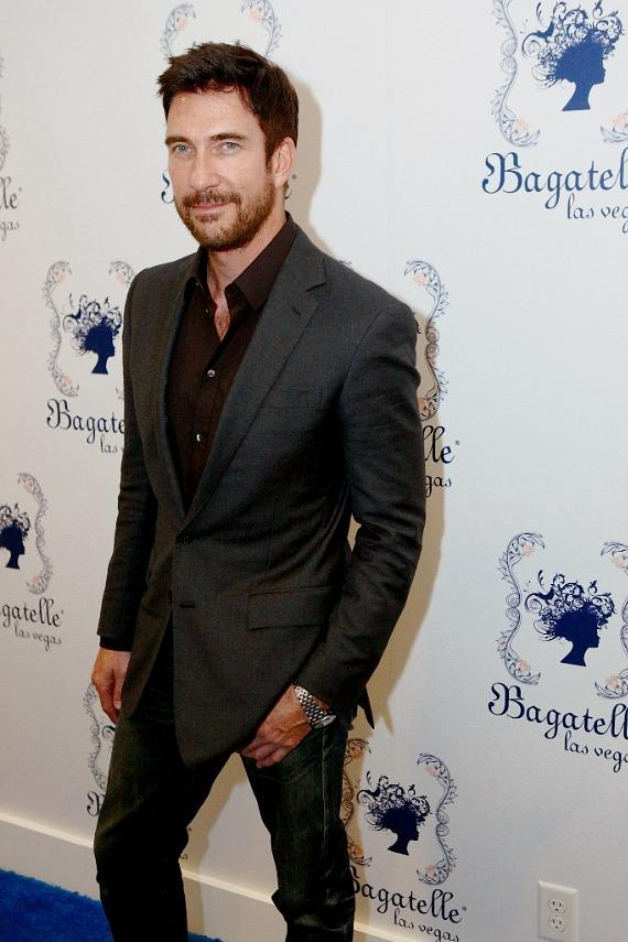 Dylan McDermott on Carpet at Bagatelle Beach & Supper Club