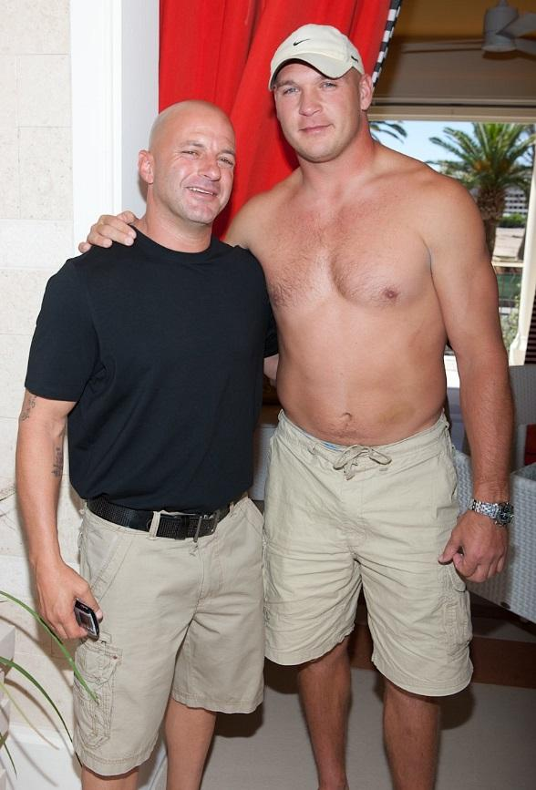 Surrender Partner Bob Mancari and NFL player Brian Urlacher