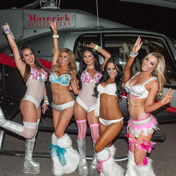 Maverick Helicopters Heightens 20th Annual Electric Daisy Carnival, Las Vegas Experience with VIP Flight Transfers