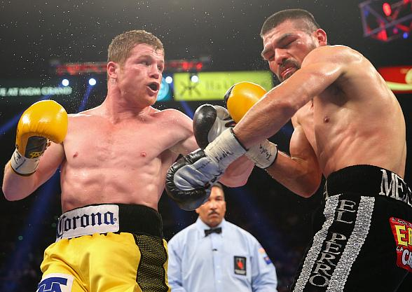 "Canelo Alvarez Impresses in Controversial Technical Knockout Victory Over Alfredo ""El Perro"" Angulo"
