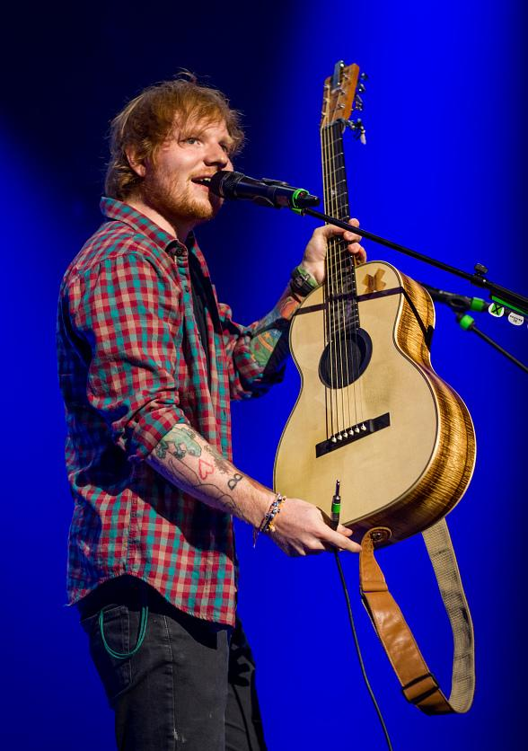 Ed Sheeran Performs at The Cosmopolitan of Las Vegas
