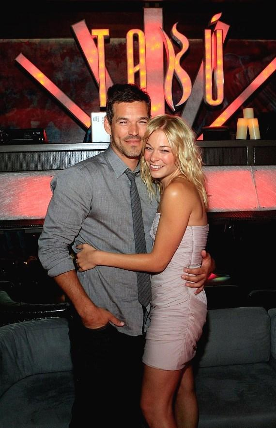LeAnn Rimes and Eddie Cibrian Party at Tabú Ultra Lounge in Las Vegas