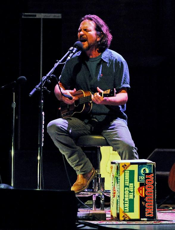 Eddie Vedder Performs at the Pearl at Palms Casino Resort