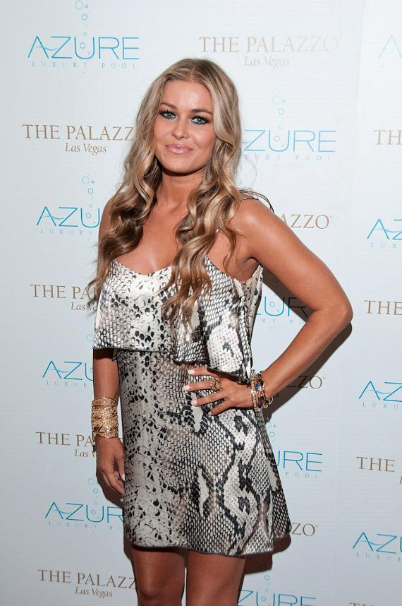 "Carmen Electra Hosts ""Stereo Loves Saturday"" at Azure Luxury Pool"