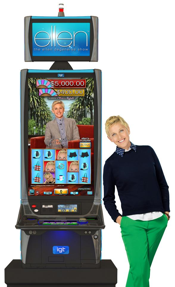 "IGT Inspires the Gaming World to ""Laugh.Dance.Play."" with The Ellen Degeneres Show Video Slots"