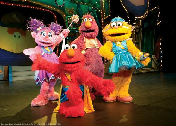 Elmo's Super Heroes! Elmo, Super Grover & Friends Arrive in Las Vegas on Nov. 9
