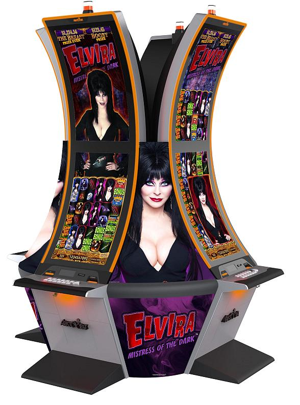"Aristocrat debuts ""Elvira, Mistress of the Dark"" Slot Machine"