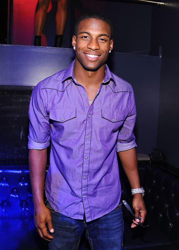 Pittsburgh Steelers wide receiver Emmanuel Sanders inside Chateau Nightclub & Gardens