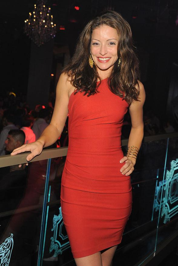 Emmanuelle Vaugier at Chateau Nightclub & Gardens