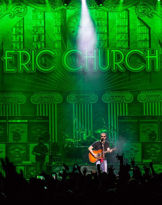 Eric Church performs at The Chelsea inside The Cosmopolitan