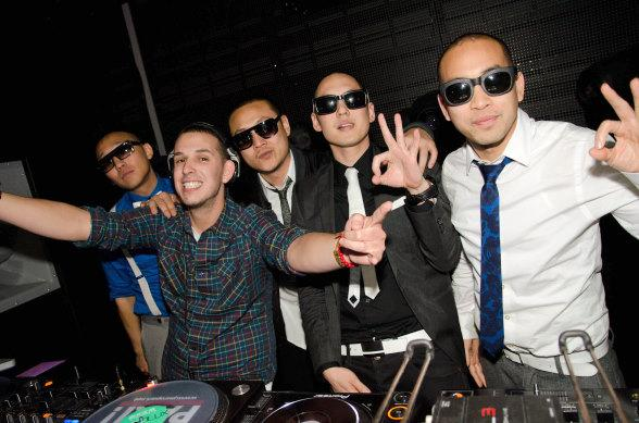 Eric D Lux and Far East Movement at Marquee