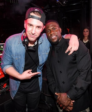 Eric D-Lux and Kevin Hart at Marquee Nightclub