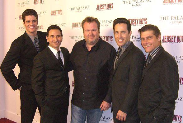 From left to right: Peter Saide, Travis Cloer, Eric Stonestreet, Jeff Leibow, Deven May - Photo credit: B.J. Allen.
