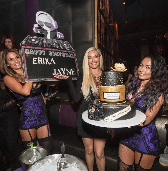 Erika Girardi Celebrates her Birthday at Marquee