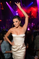 Eva Longoria Hosts Dia de los Muertos Celebration at TAO Nightclub in Las Vegas