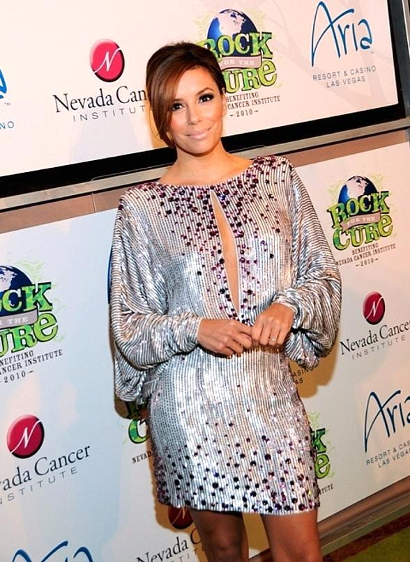 Eva Longoria-Parker on red carpet at Nevada Cancer Institute