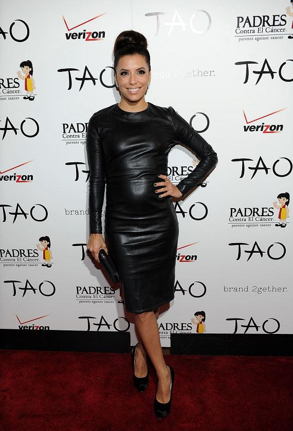 Eva Longoria arrives at TAO