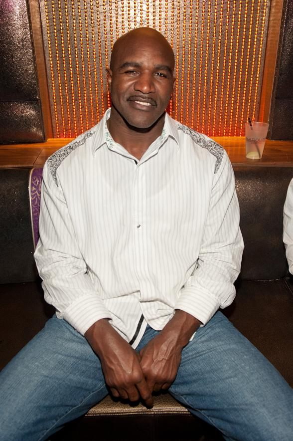 Boxer Evander Holyfield at Marquee Mondays