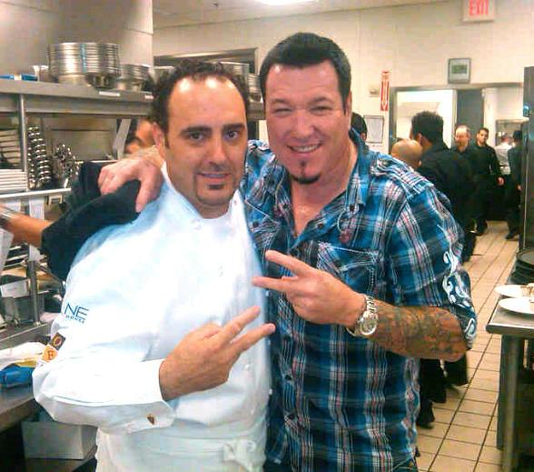 Executive Chef Barry S. Dakake and Steven Harwell of Smash Mouth