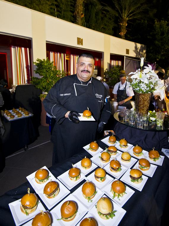 Executive Chef Gilbert Morales (Orleans Arena)