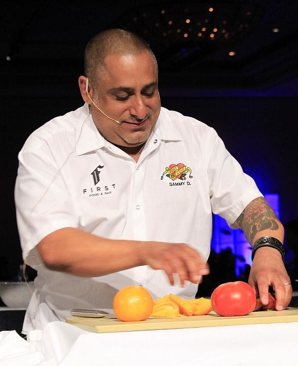 Executive Chef Sam DeMarco from FIRST Food &amp; Bar
