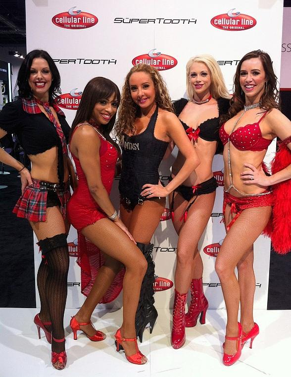 FANTASY Dancers Perform at International CES Show in Las Vegas