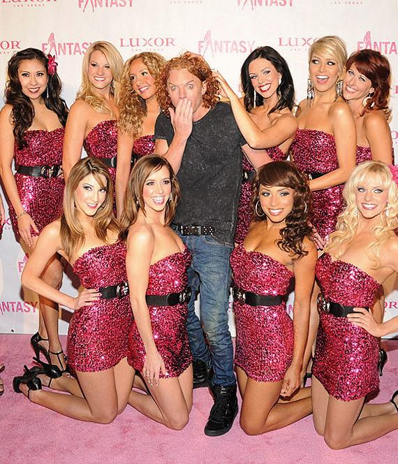 """Carrot Top at """"Ultimate FANTASY"""" calendar party in Rice & Company at Luxor"""