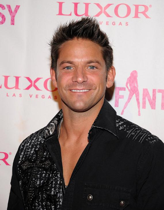 "Jeff Timmons at ""Ultimate FANTASY"" calendar party in Rice & Company at Luxor"