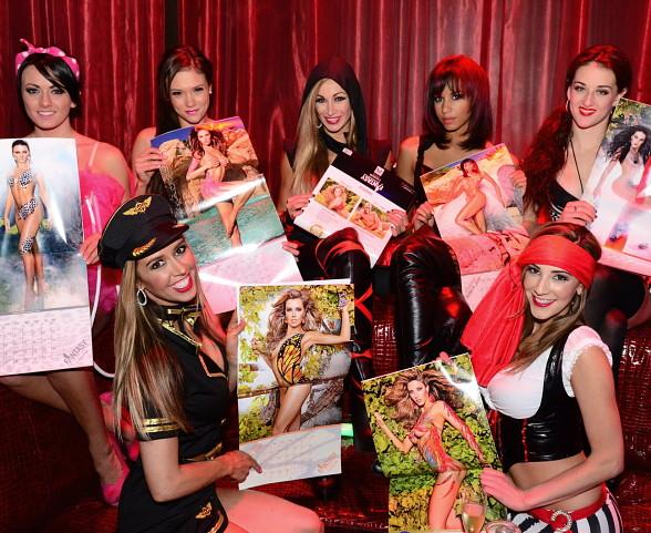 "FANTASY Cast Hosts Special ""Frisky Friday"" Halloween Edition at LAX Nightclub"