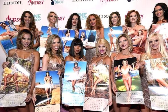 The Ladies of FANTASY Celebrate Father's Day with Complimentary Calendar Giveaway at Luxor Hotel & Casino